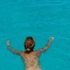 Underbara bad i absolut kristallklart vatten