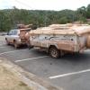 Sa har sag alla bilar ut i Cookstown.