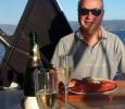 Galicisk hummer och champagne!