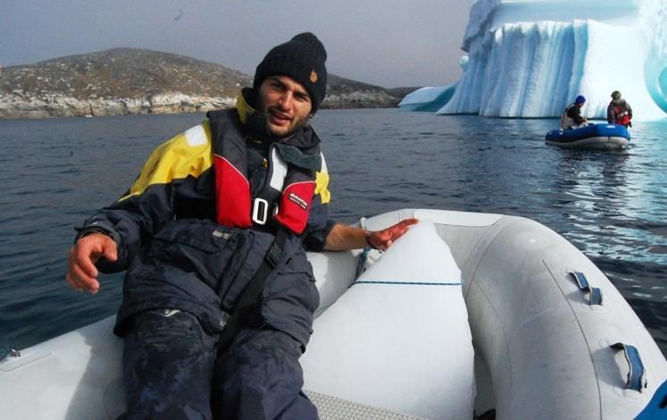 Isblocket ombord