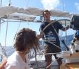Philip seglar Mahimahi för en dag
