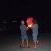 Vi tänder en ljusballong