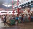 Marknad på Tahiti