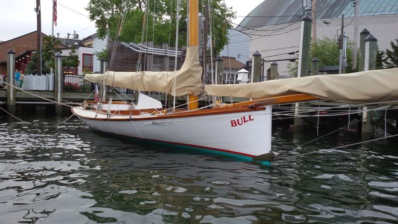 Massor av vackra båtar
