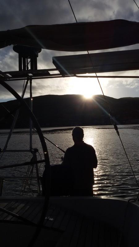 Fin kväll för fiske