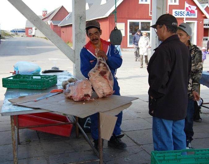Köttmarknad i stan